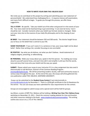 005 I Belive Essays 007060713 1 Essay Surprising Believe About Sports Ideas 360