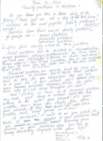 005 Image2070 Essay Example My Formidable Family How To Write In French Examples Spanish 360