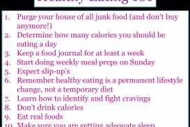 healthy eating essays expository structure how to begin