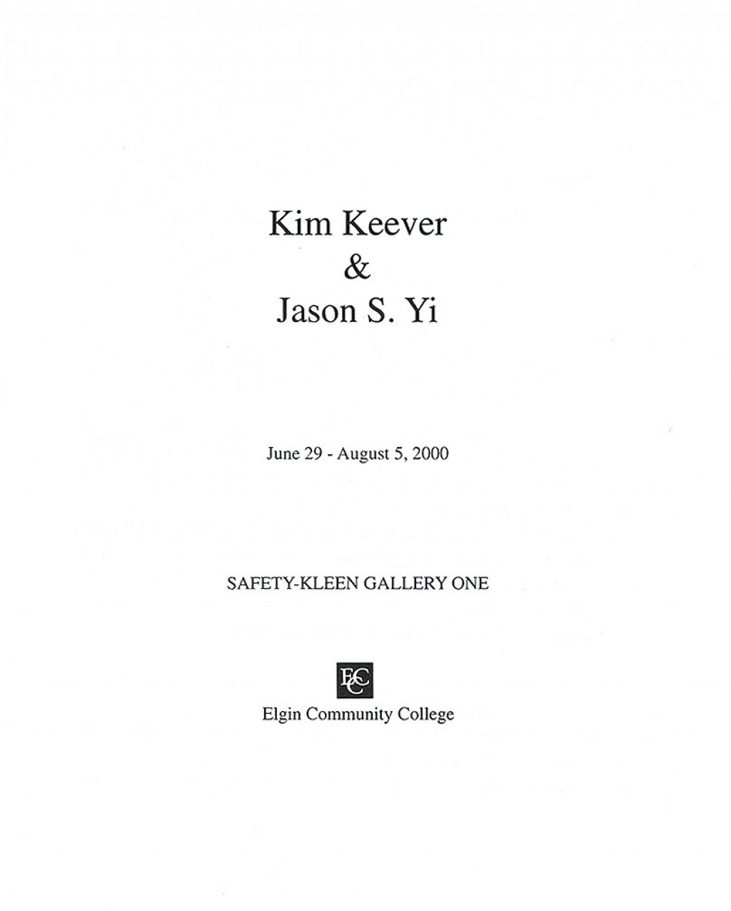 005 Jason Yi Catalog Title Page Essay Example What Is Cover For Awesome A An Does 2 Look Like Two Should I Put On Of Large