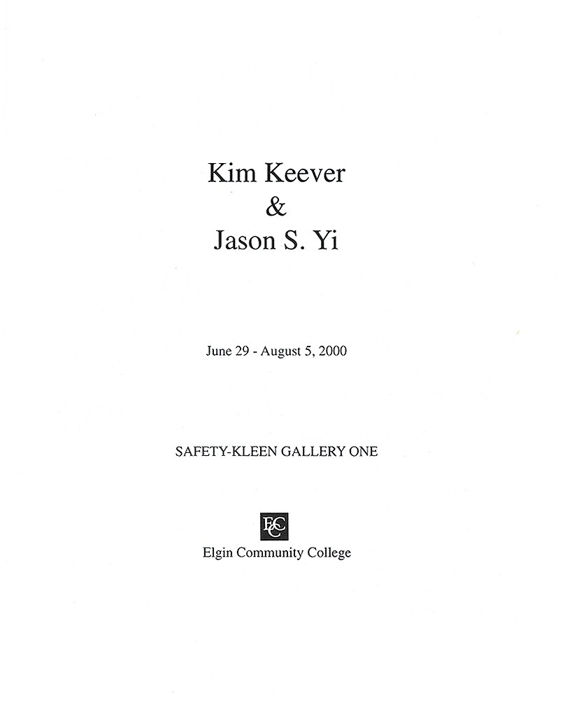 005 Jason Yi Catalog Title Page Essay Example What Is Cover For Awesome A An Does 2 Look Like Two Should I Put On Of Full