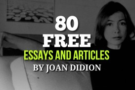 005 Joan Didion Essays Fi Joandidion 1280x640 Essay Singular Collections On Santa Ana Winds Amazon 320