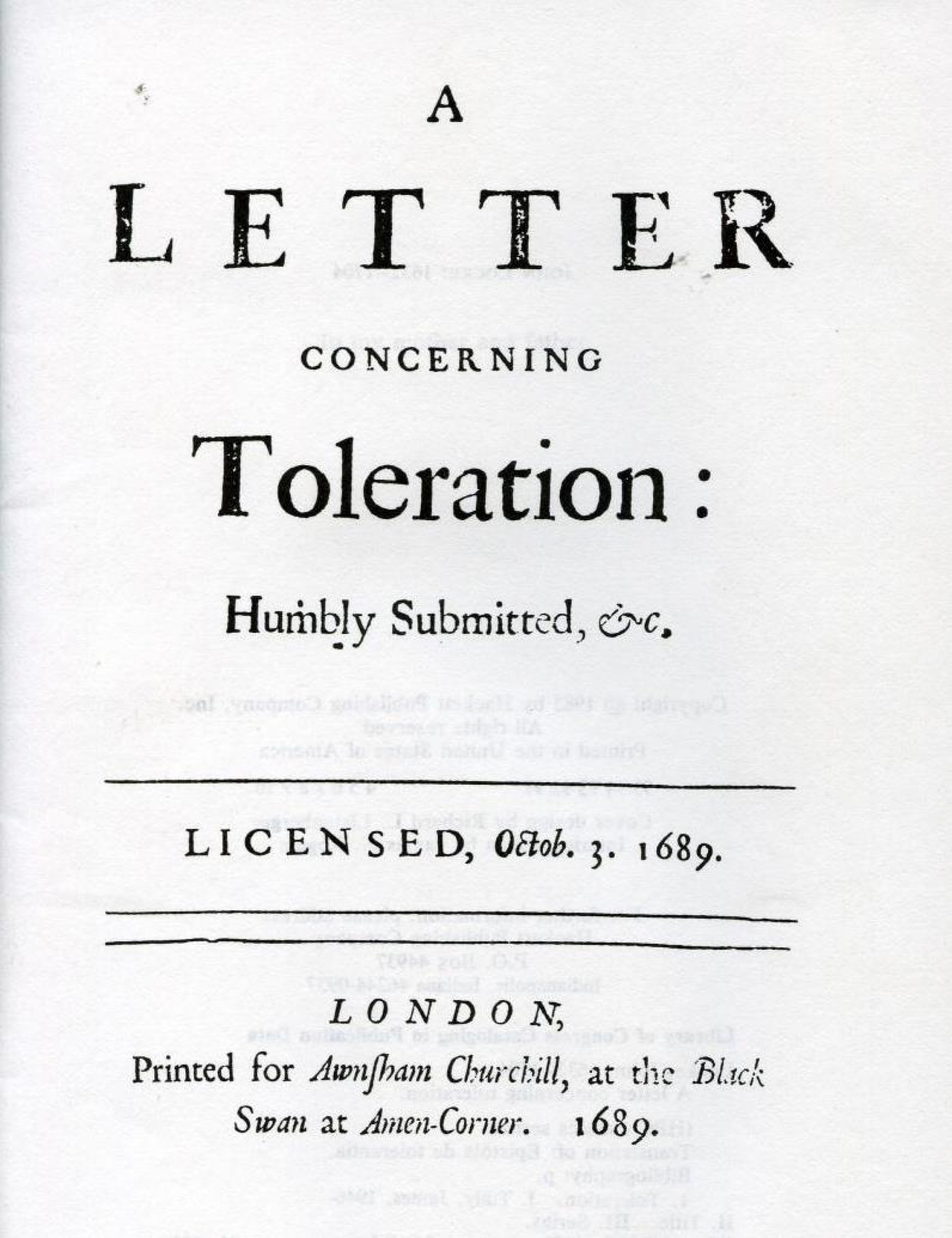 005 John Locke Essay Example Letter Concerning Toleration Impressive Human Understanding Book 4 On Pdf Summary 1920