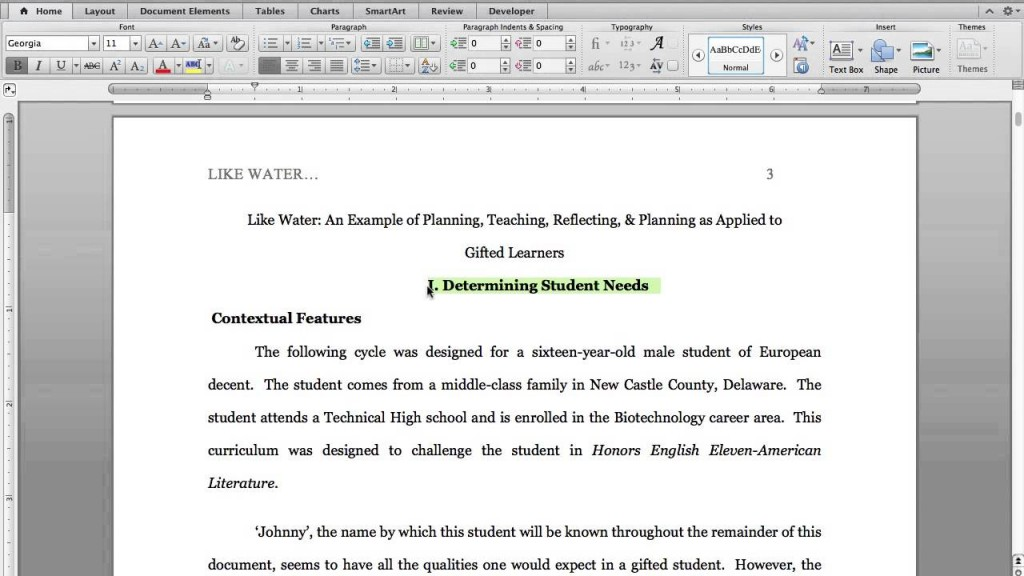 005 Maxresdefault Essay Example Apa Short Archaicawful Format Large