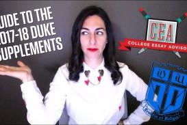 005 Maxresdefault Essay Example Duke Fearsome Supplement Collegevine Supplemental Reddit