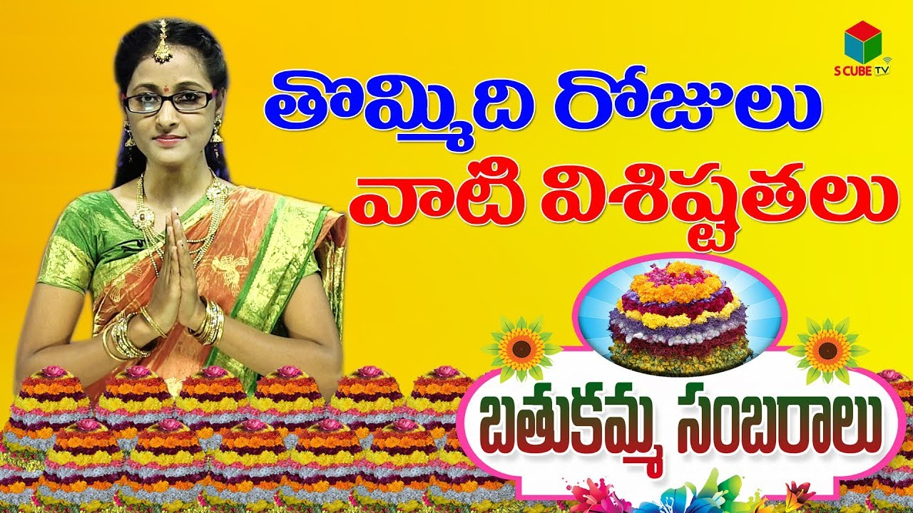 short essay on bathukamma in telugu