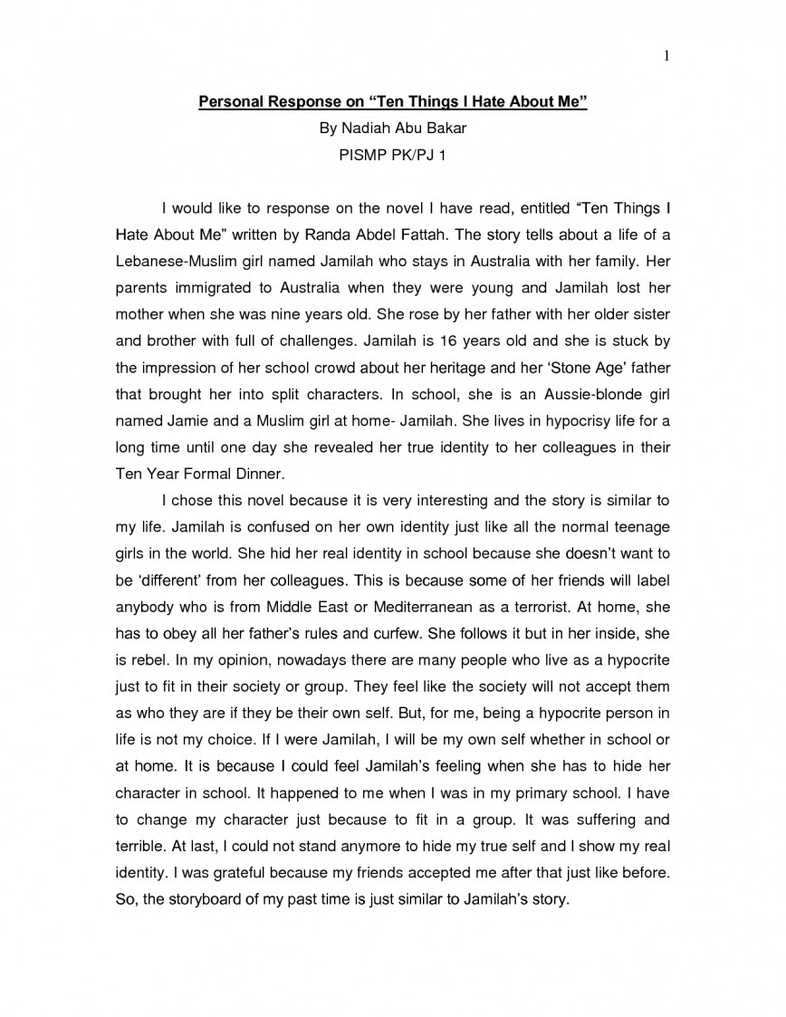 005 Mp9fstwdfk Essay Example Personal Stirring Reflection On Anxiety Writing For College