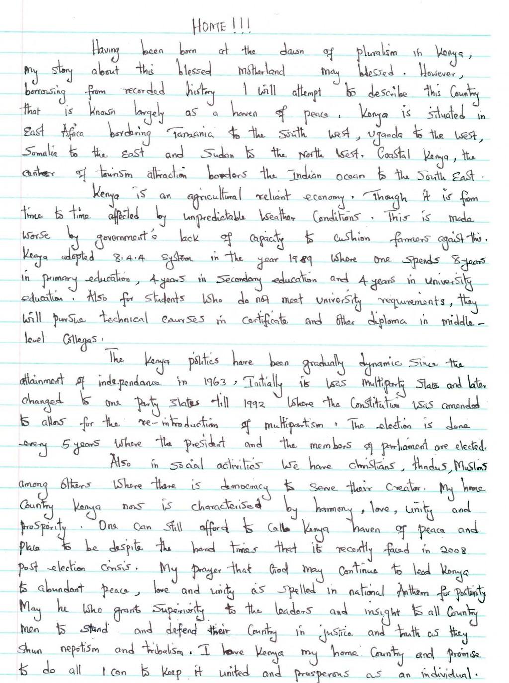 005 My Dream House Descriptive Essay Description Sweet Home Wr Writing Beautiful Ideal Town Large