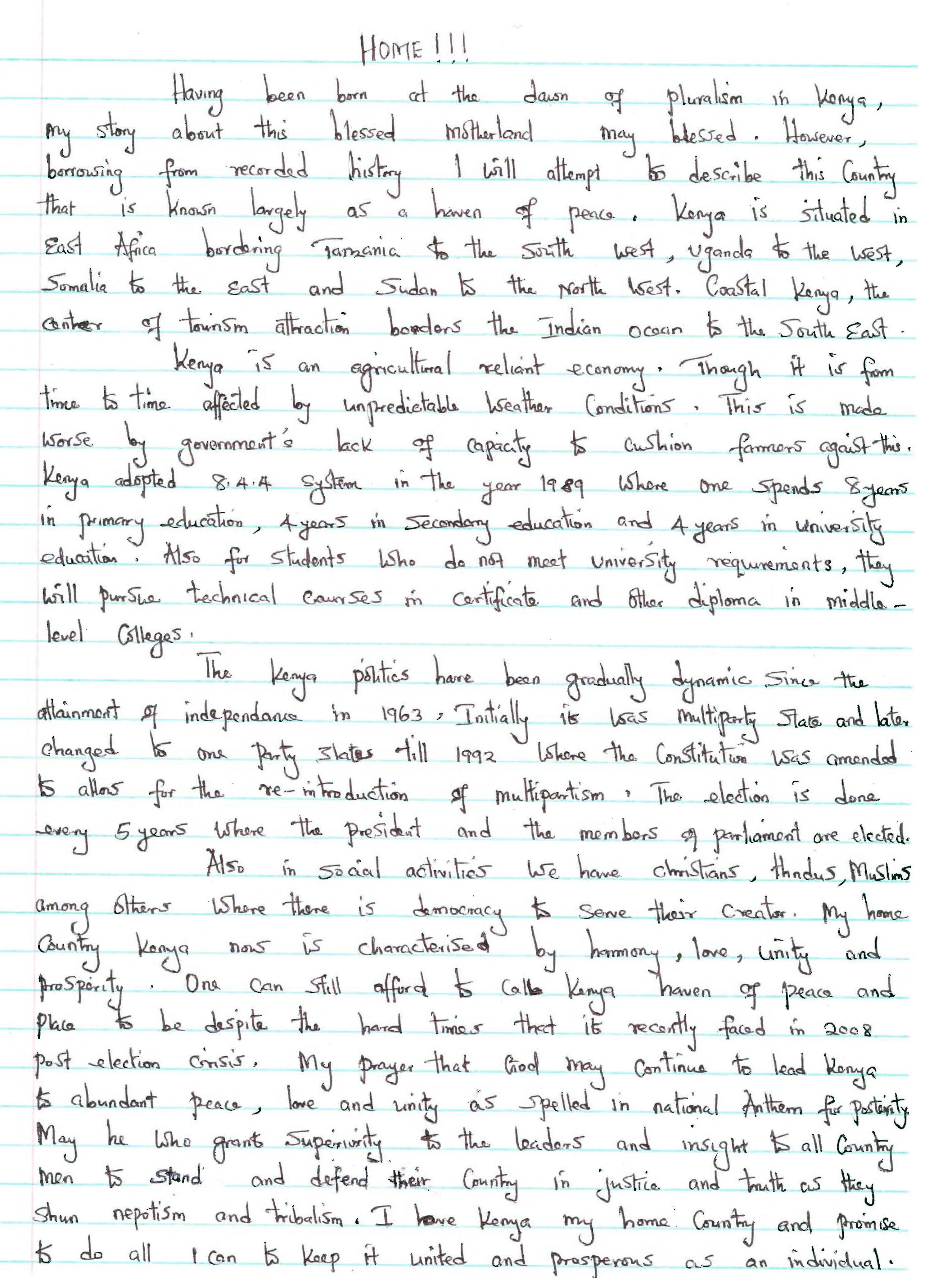 005 My Dream House Descriptive Essay Description Sweet Home Wr Writing Beautiful Ideal Town Full