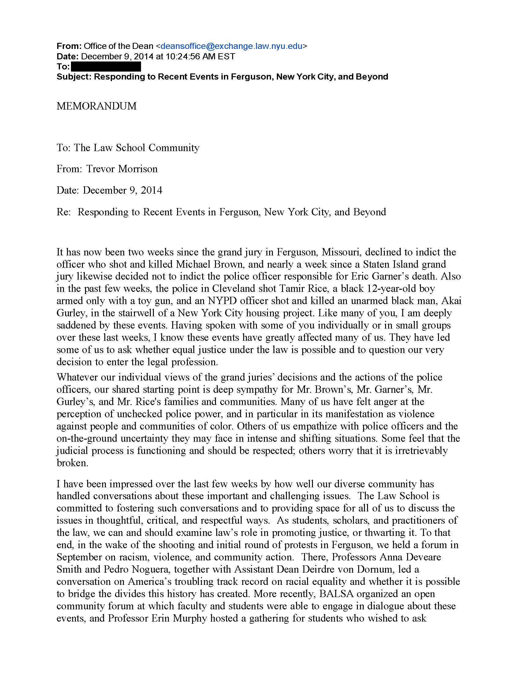 005 Nyu Response 14 Page 1 Essay Example Why Exceptional Supplement Examples College Confidential Full