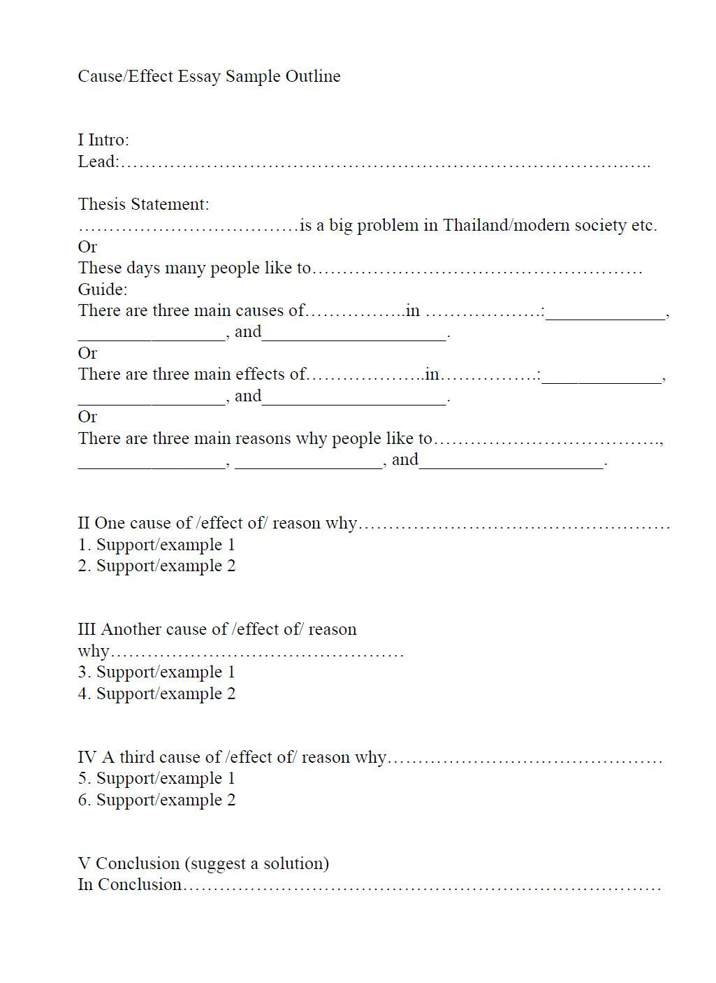 005 Opinion Essay Outline Format Toulmin Striking Method Full