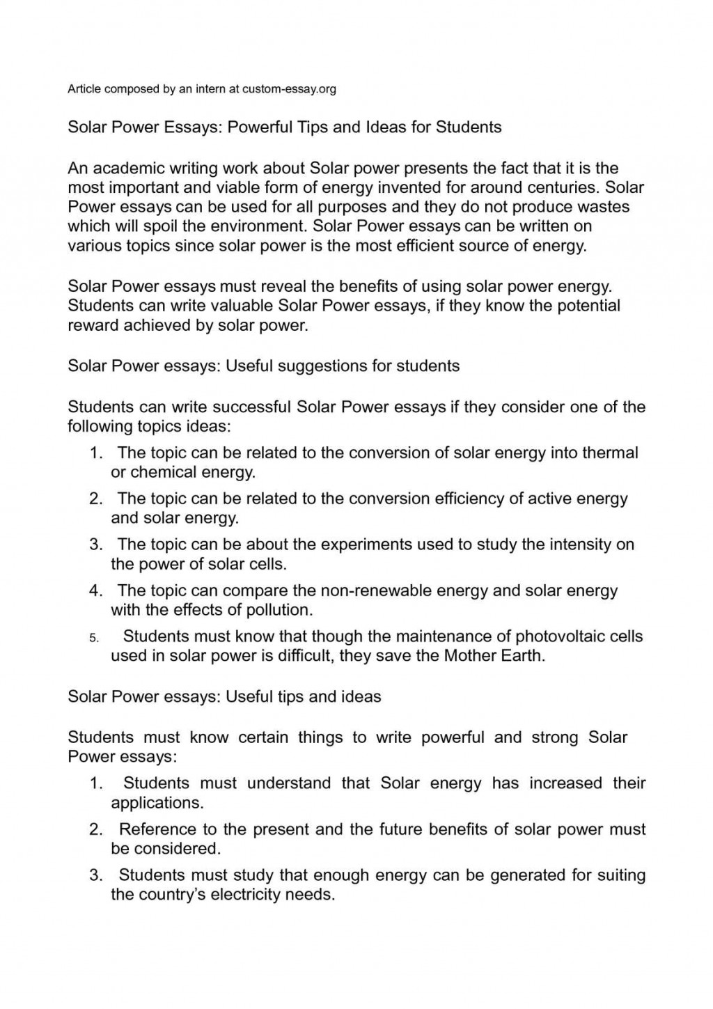 005 P1 Power Essay Shocking Abuse Of Introduction Nuclear Black Topics Large