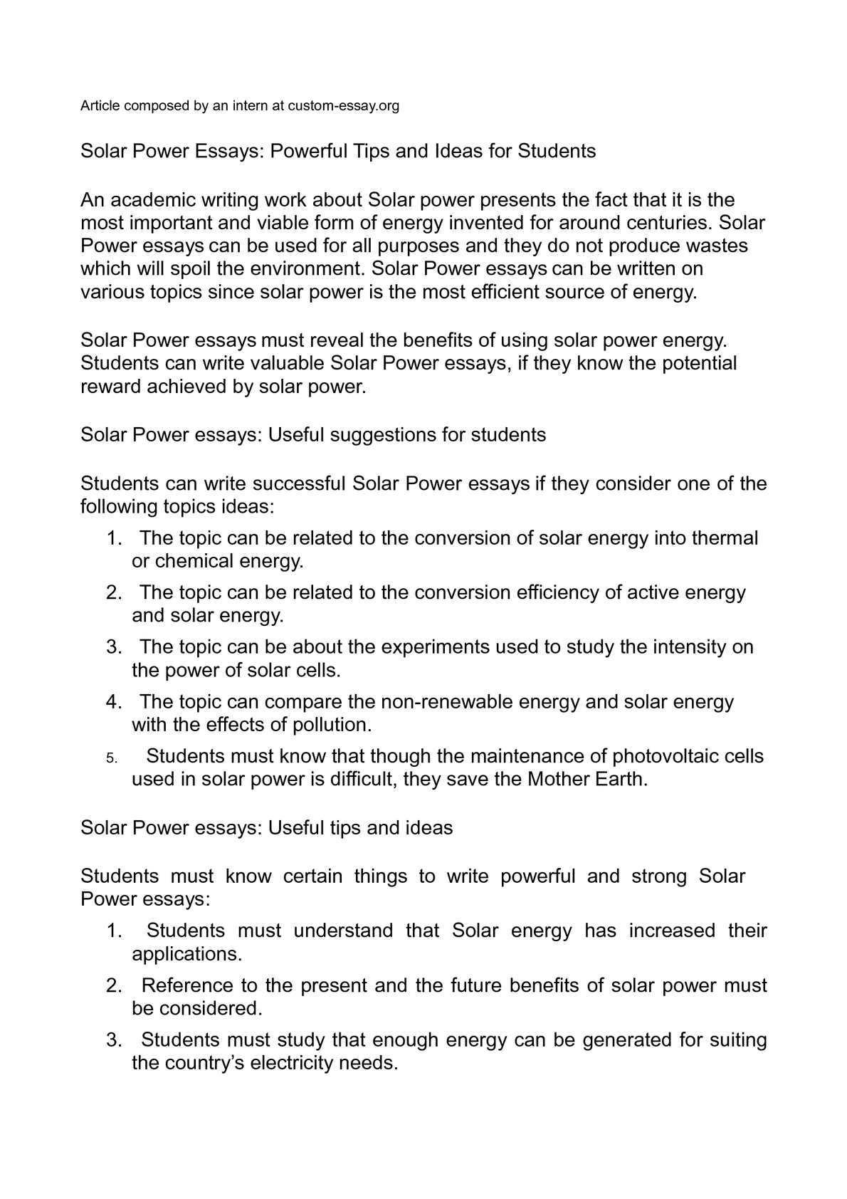 005 P1 Power Essay Shocking Abuse Of Introduction Nuclear Black Topics Full