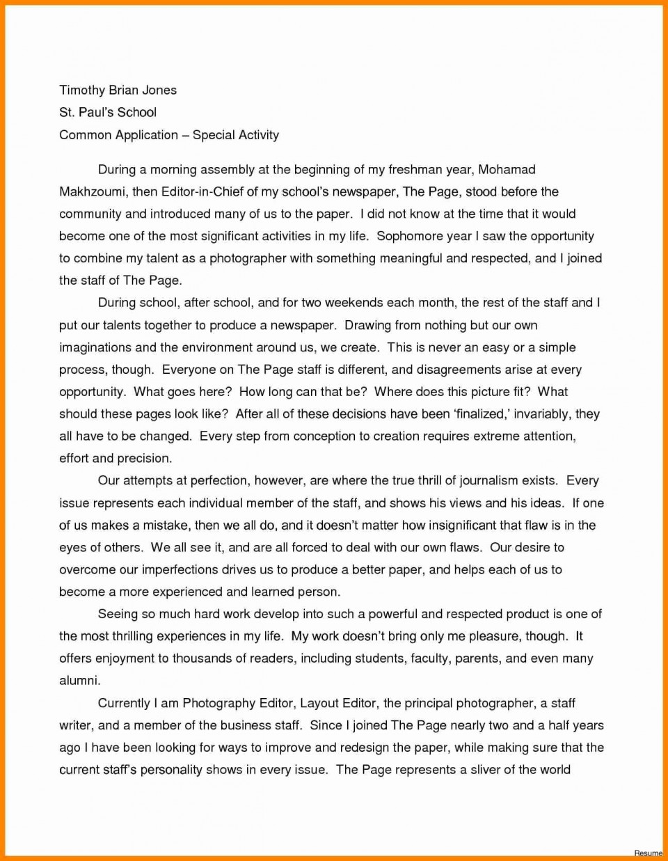 005 Personal Essay Samples Example Examples For High School Hola Klonec Breathtaking College Good Topics 960