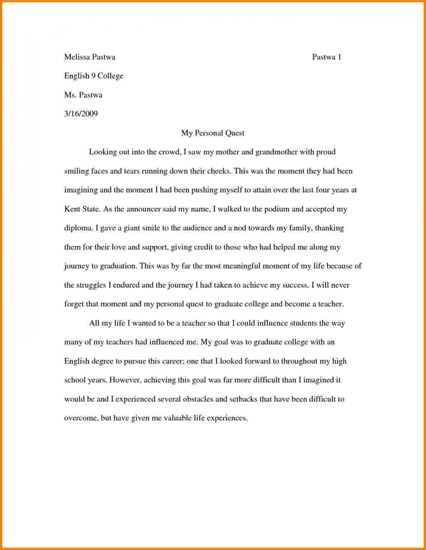 004 philosophy in life sample essay example