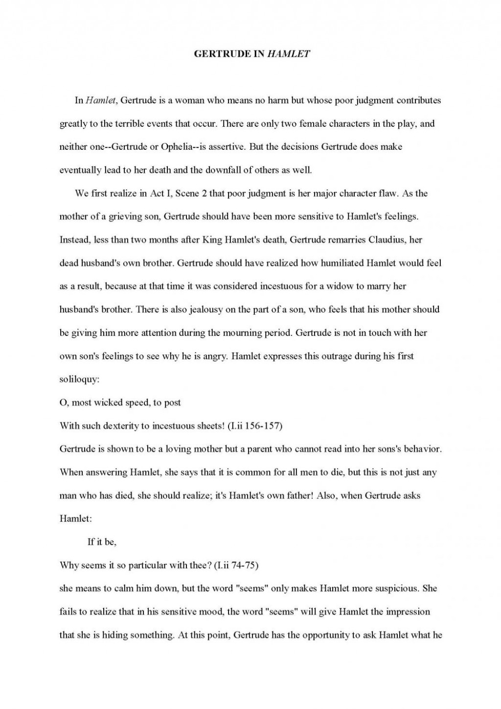 005 Profile Essays Examples Character Analysis Sample Essay Formal Characterization Paper Ex Example Characters Comparing 1048x1482 How To Write An Astounding On A Research Large