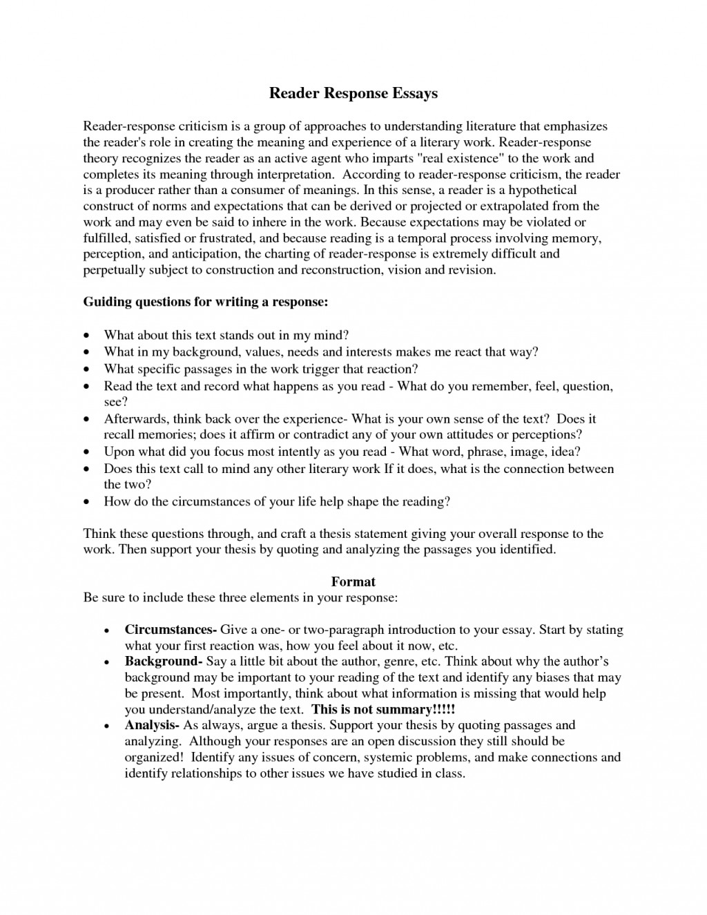 005 Response Essay Example Background Define Discussd Illustrate With Sample Of Critical Summaryalysis Crossing Brooklyn How To Write Introduction Writing Workshop Awful Text Analysis Extended Year 12 Large