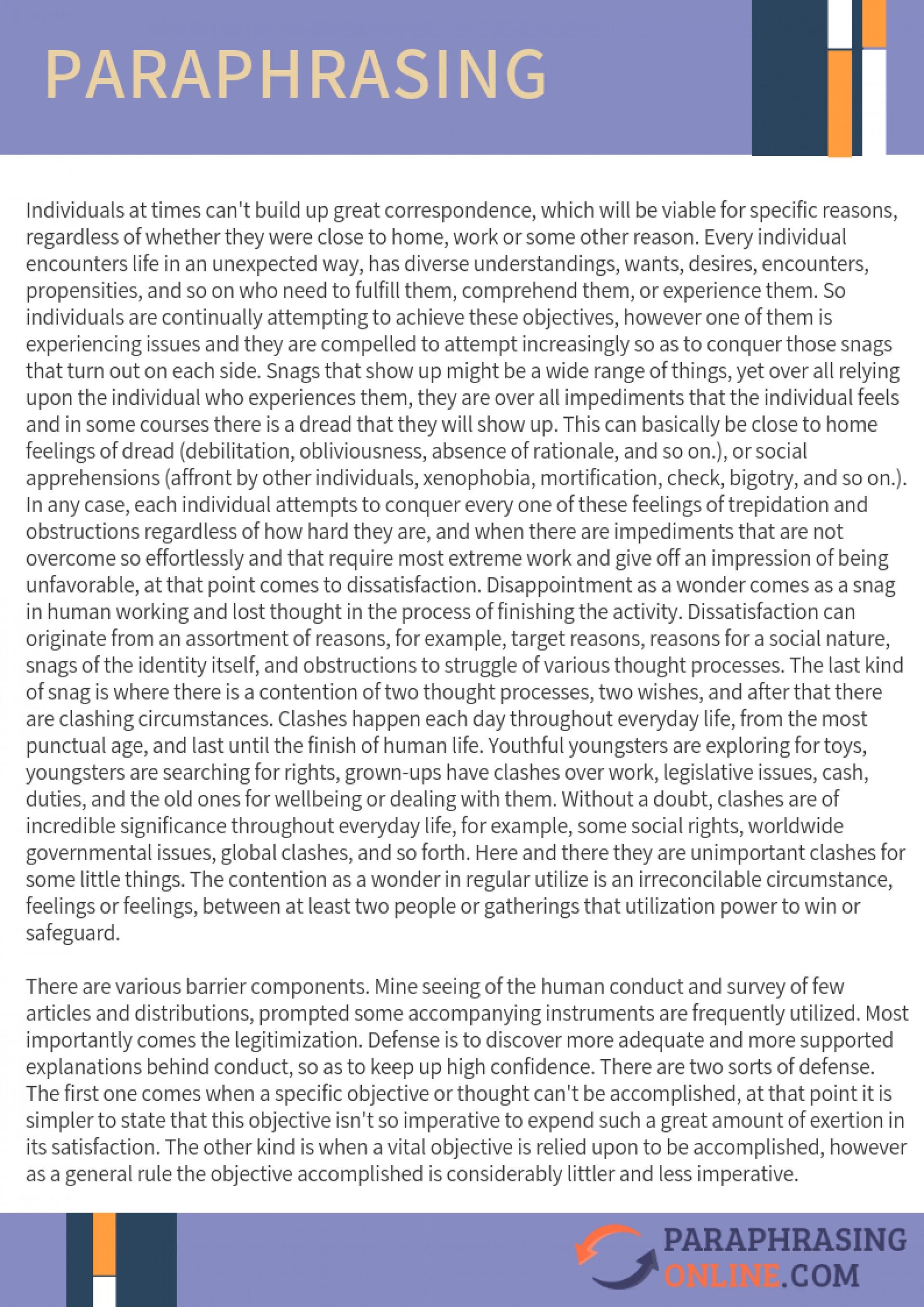 005 Rewrite Essay Example Paraphrasing Best Software Article Freelance 1920