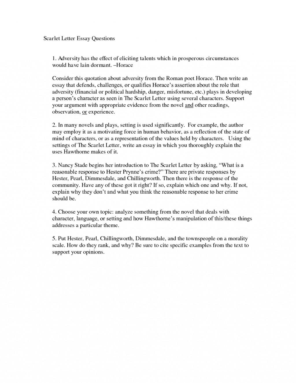 005 Scarlet Letter Essay Imposing Titles On Sin Pdf Large