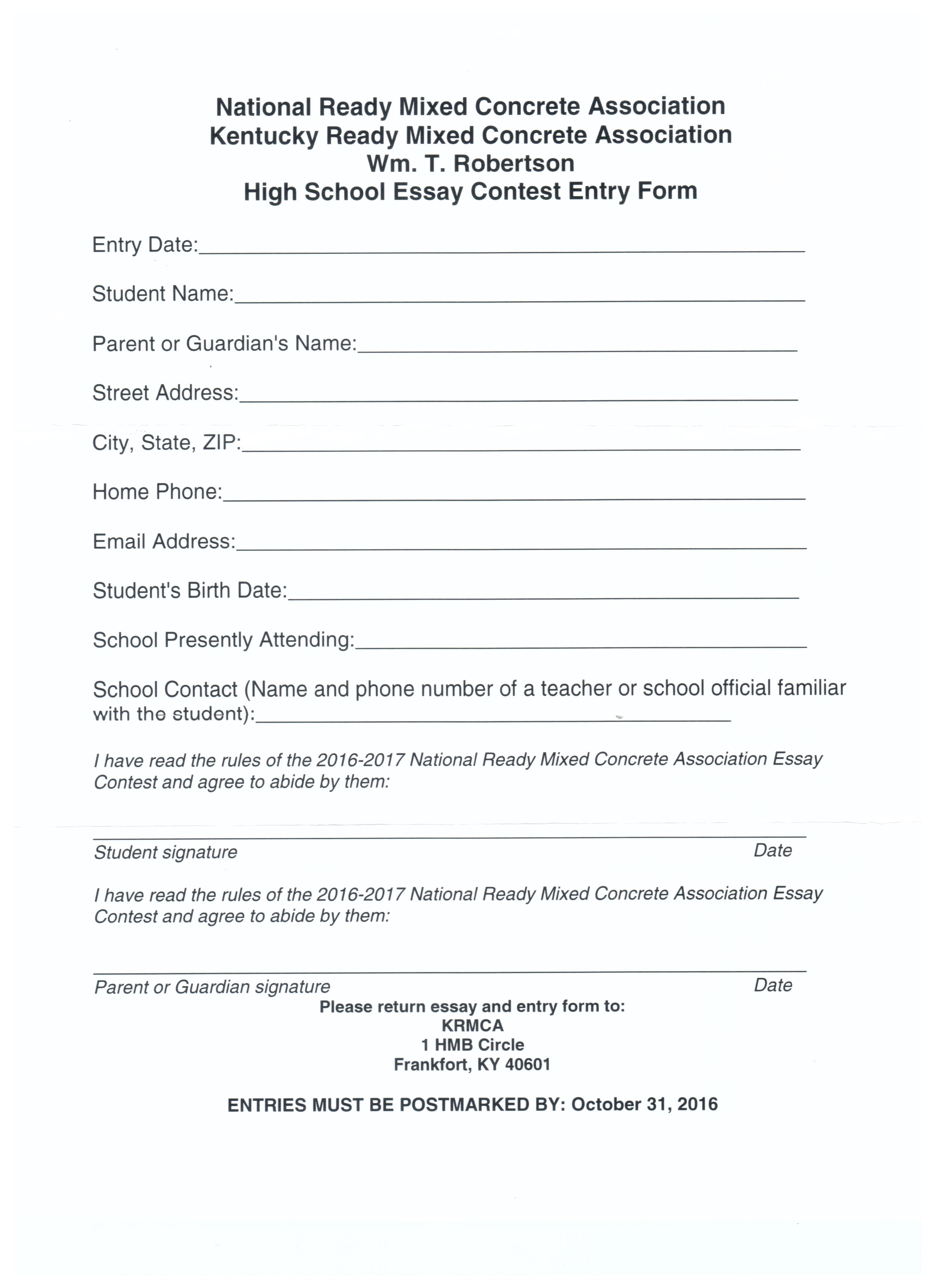 005 Scholarship Essay Contests On Why I Need Financial Community Service For Highschool Students Concrete Contest Stupendous Middle School High Seniors Full