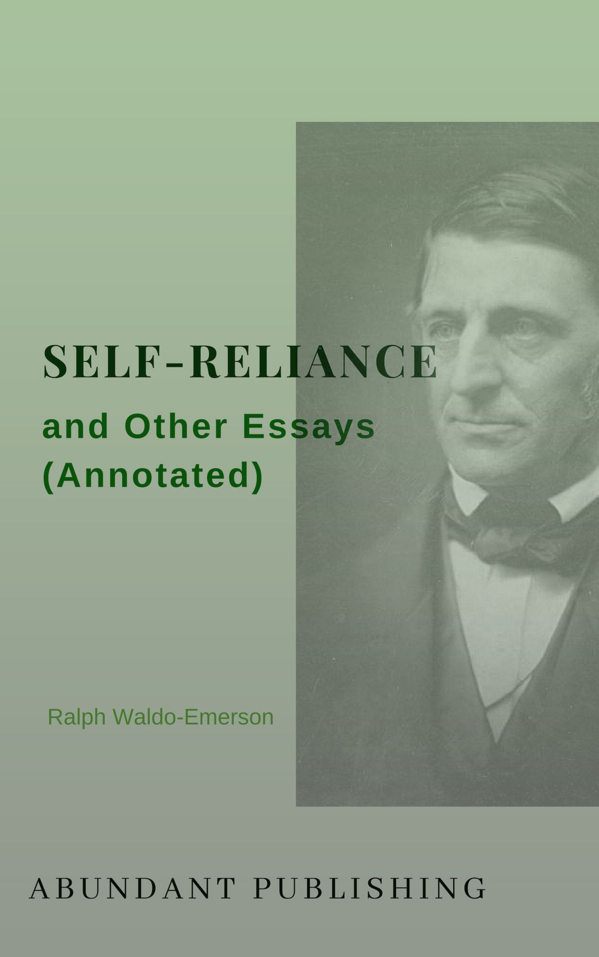 005 Self Reliance And Other Essays Annotated Essay Formidable Ralph Waldo Emerson Pdf Ekşi 1920