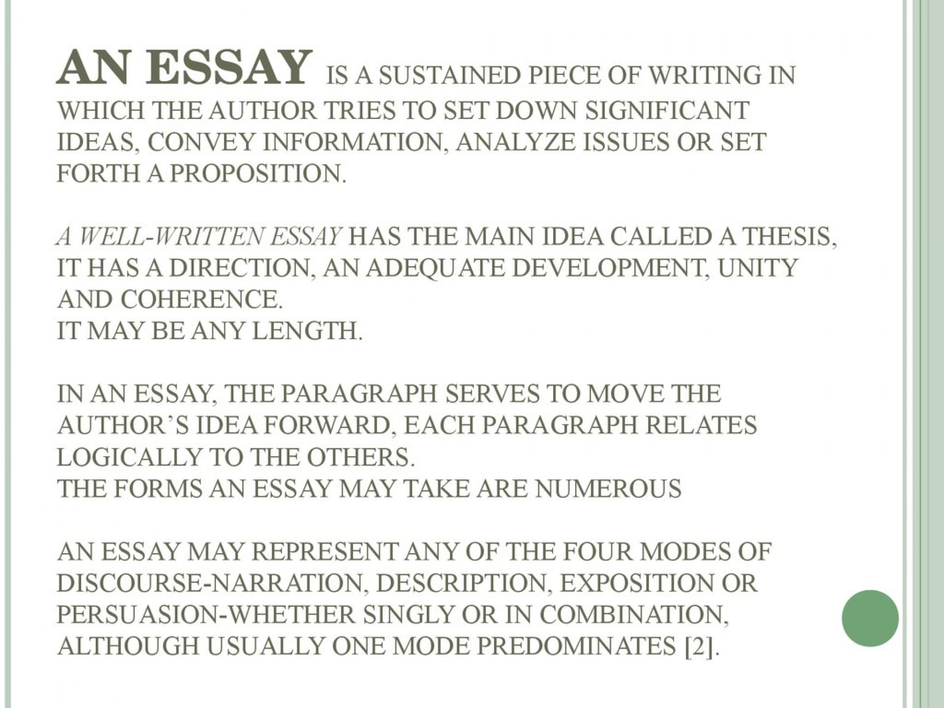 005 Slide Essay Example Surprising Doc Doctor In English Pdf Documentary Definition 1920
