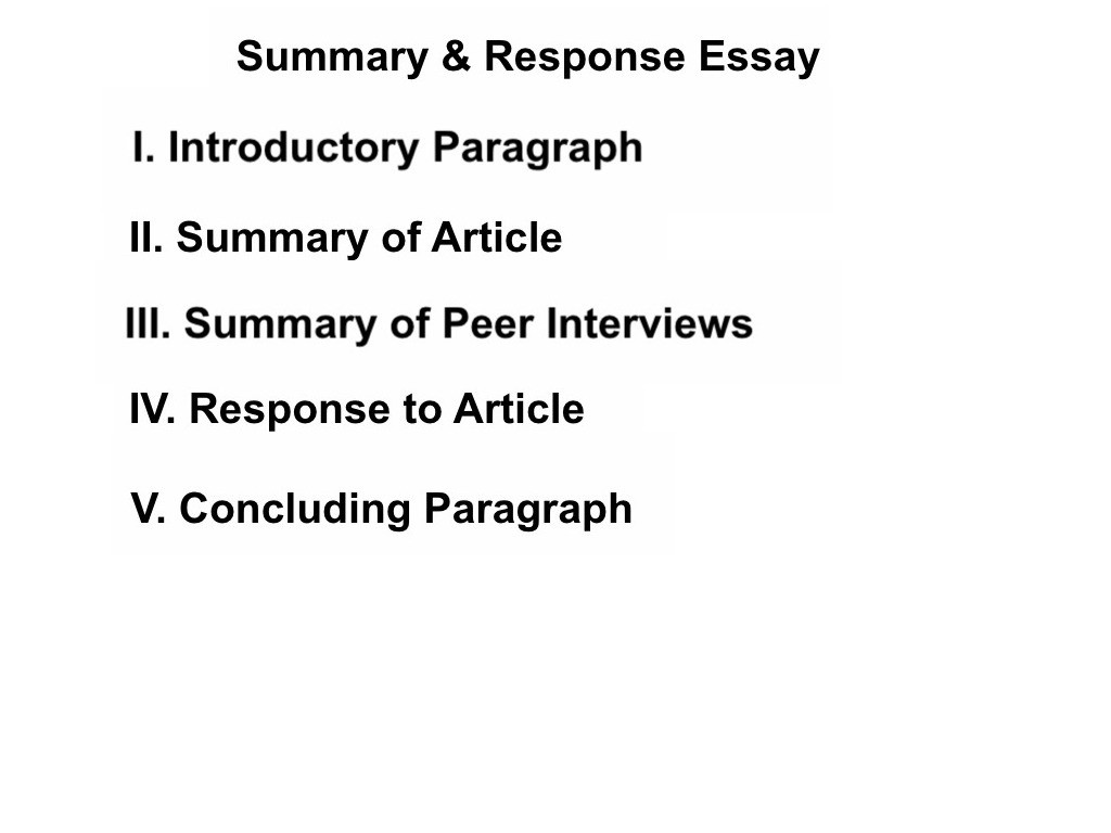 005 Summary And Response Essay Thumbs1310783831 Stupendous Thesis Conclusion Analysis Sample Large