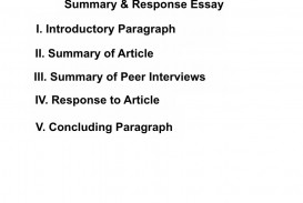 005 Summary And Response Essay Thumbs1310783831 Stupendous Thesis Conclusion Analysis Sample