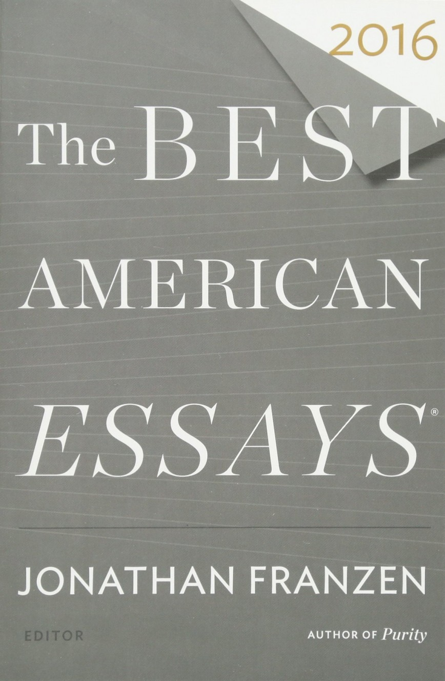 005 The Best American Essays Essay Example Wonderful 2013 Pdf Download Of Century Sparknotes 2017 868