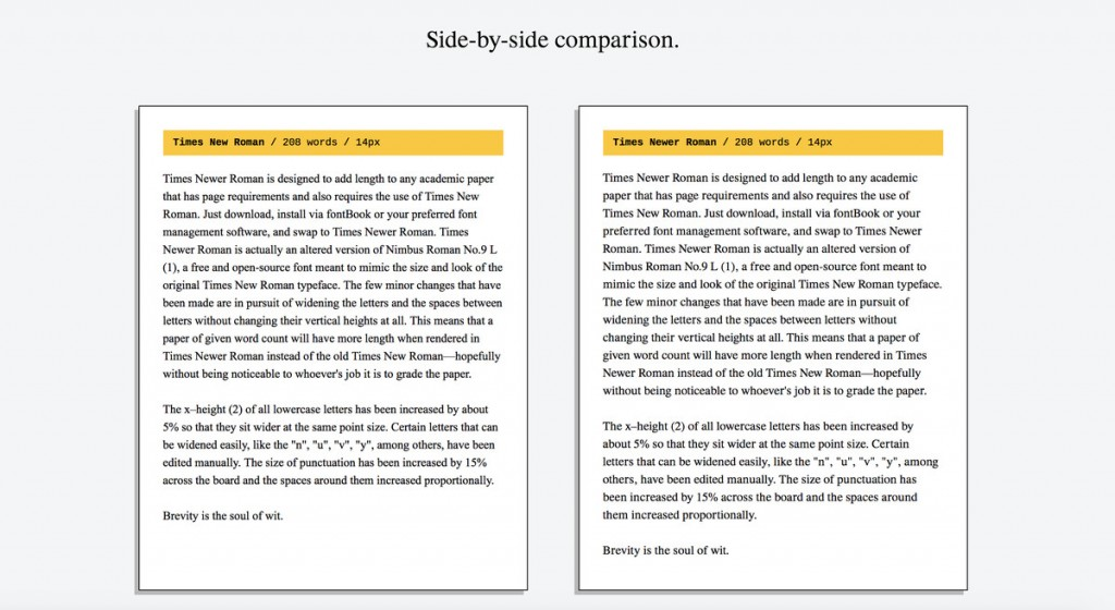 005 Times Newer Roman Is Sneaky Font Designed To Make Your Essays Look Longer How An Essay Unforgettable On Word Large