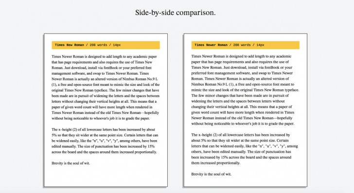 005 Times Newer Roman Is Sneaky Font Designed To Make Your Essays