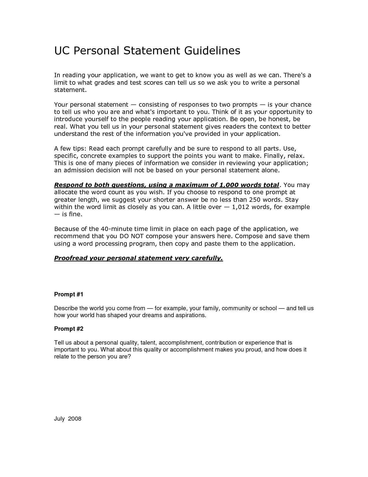 005 Uc Application Essay Examples Personal Statement College Admission Prompts Of Statements Template Cm3 App Prompt Ucf Texas Admissions Example Frightening Essays Tips Full