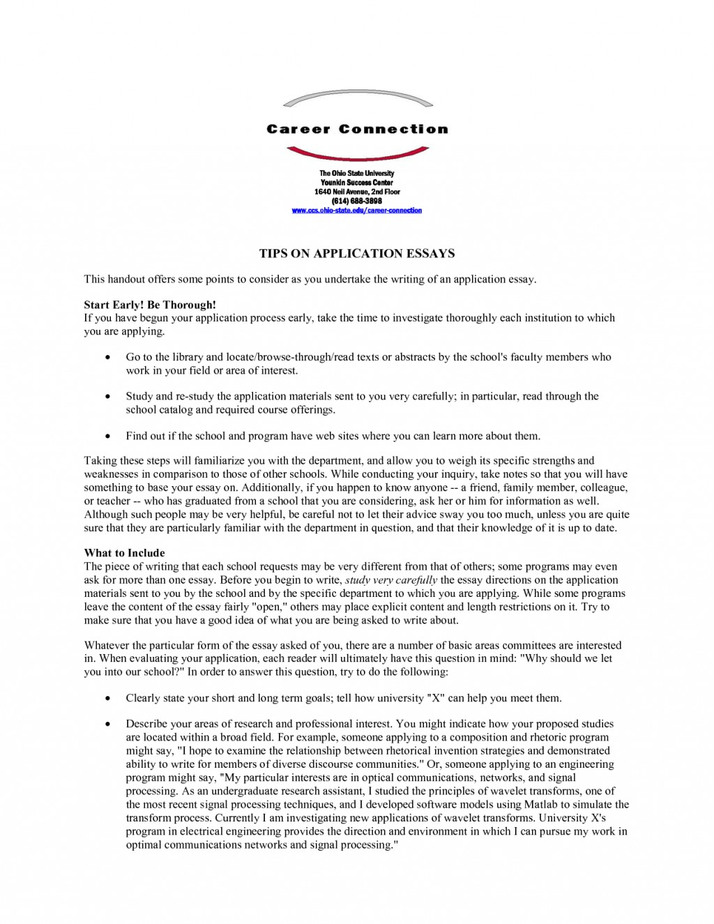 005 Vcu Personal Statement Essay Gb6xryqqsc Remarkable Large