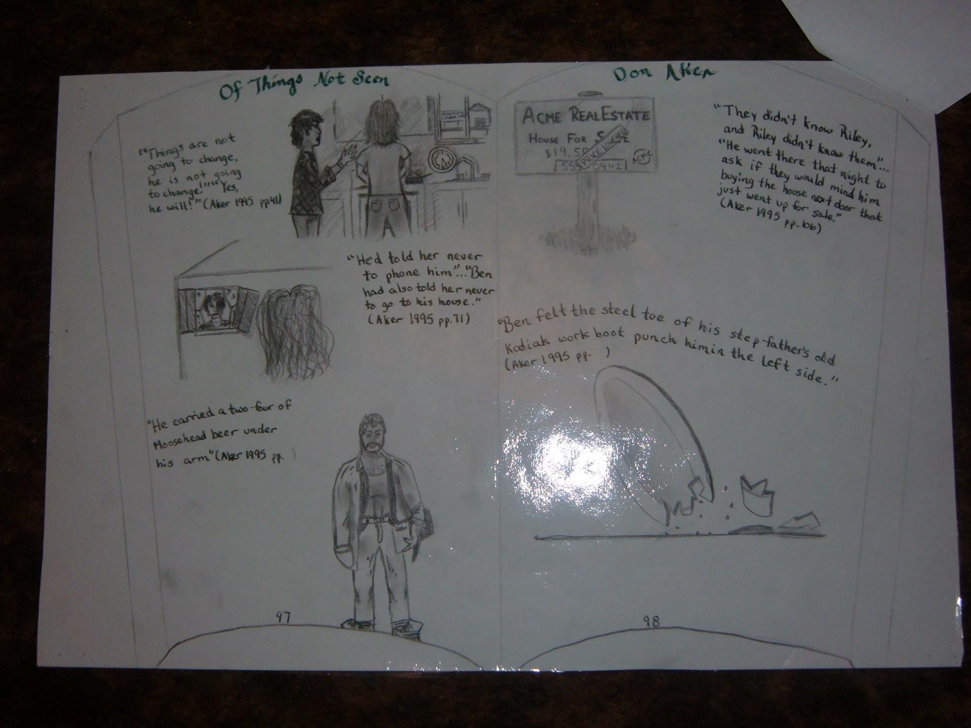 005 Visual Essay Example Shocking Response Examples Literacy Arts 1920