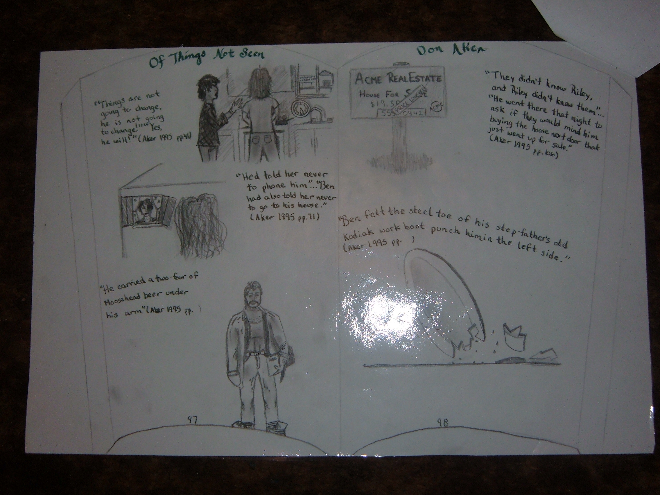 005 Visual Essay Example Shocking Response Examples Literacy Arts Full