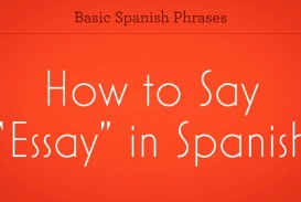 005 Zv How To Say Essay In Spanish Promo Image Frightening Google Translate Persuasive