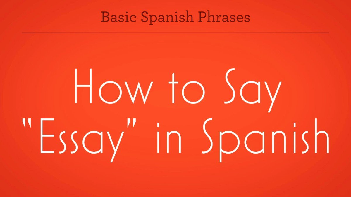 005 Zv How To Say Essay In Spanish Promo Image Frightening Google Translate Persuasive Full