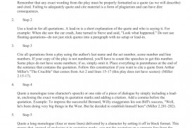 006 008011093 1 Essay Example How To Quote Play In Top A An Dialogue From Do You Lines Mla