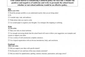 006 008832243 1 School Uniforms Essay Impressive Against Sample Conclusion Outline