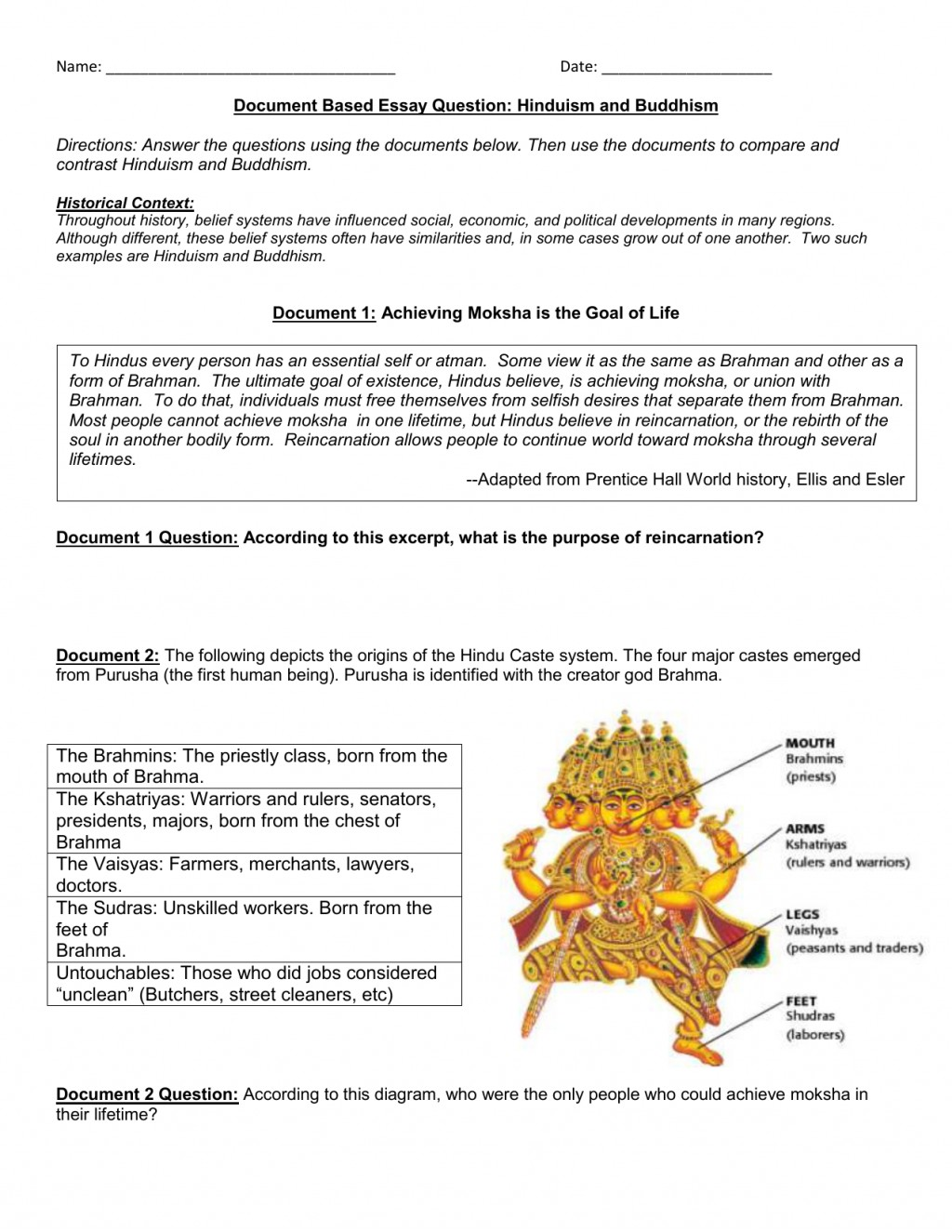 006 009328677 1 Essay Example Surprising Hinduism Questions Hindu Muslim Ekta In Hindi And Buddhism Introduction Large