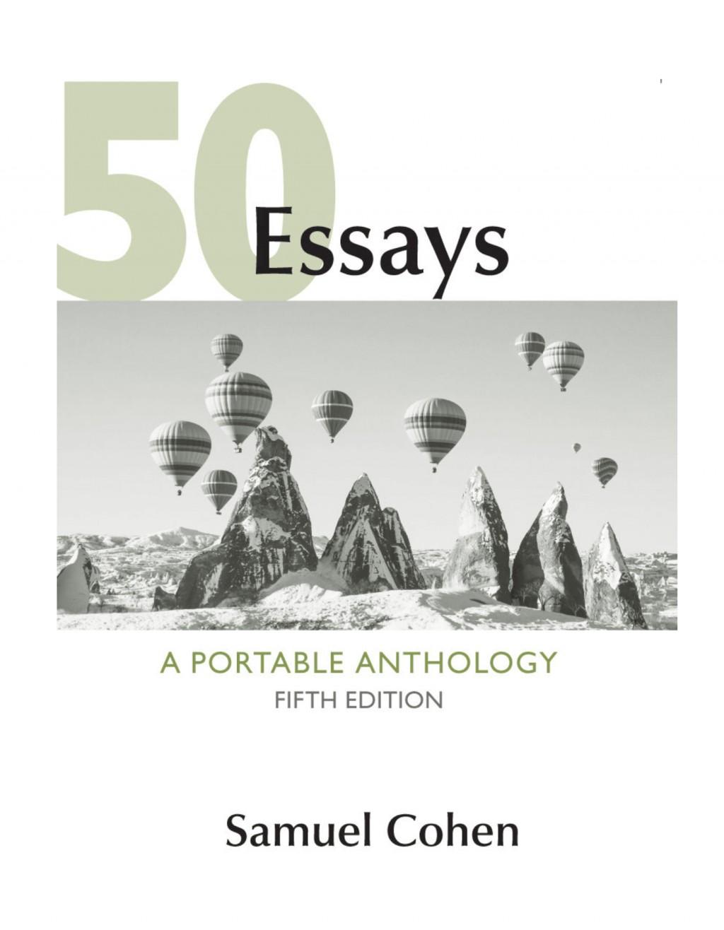 006 50fit14002c1800ssl1 Essays Portable Anthology 5th Edition Pdf Essay Fascinating 50 A Large