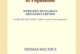 006 717hprqxqul An Essay On The Principle Of Population Fascinating By Thomas Malthus Pdf In Concluded Which Following
