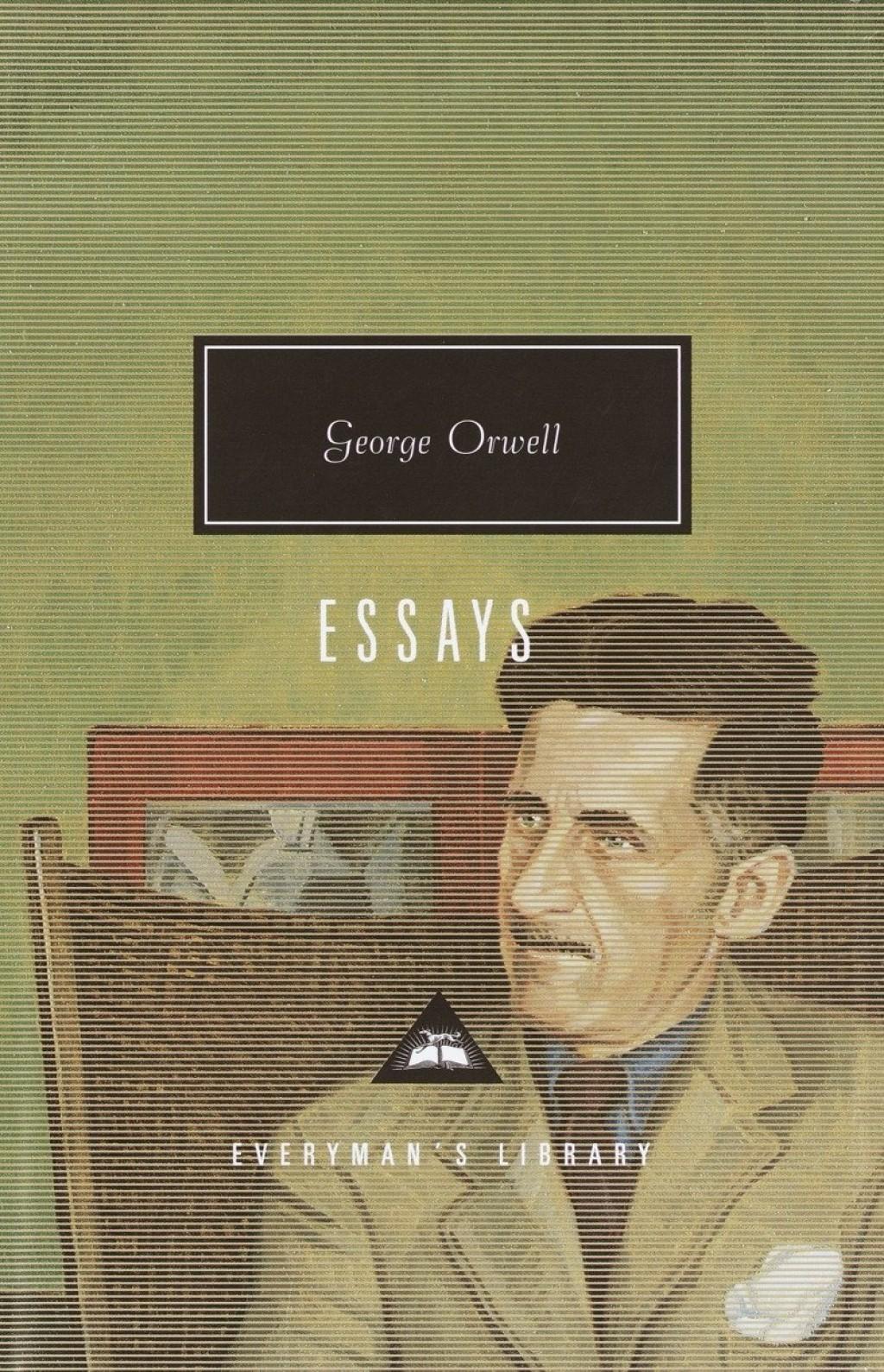 006 81qzb0g1zol Essay Example George Orwell Frightening Essays Everyman's Library Summary Bookshop Memories Large