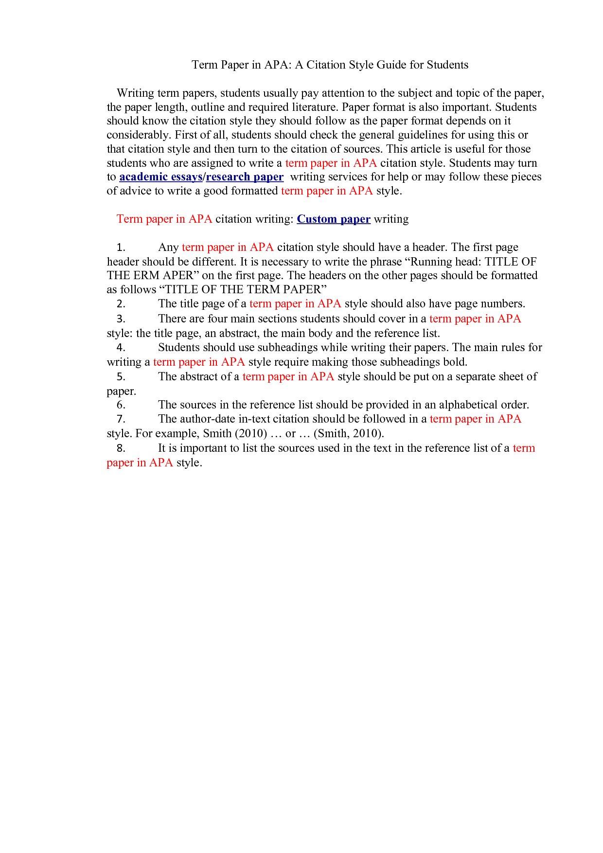 006 Apa Citation Format Example Paper 308795 In Stupendous Essay Cite A Book Multiple Authors Full