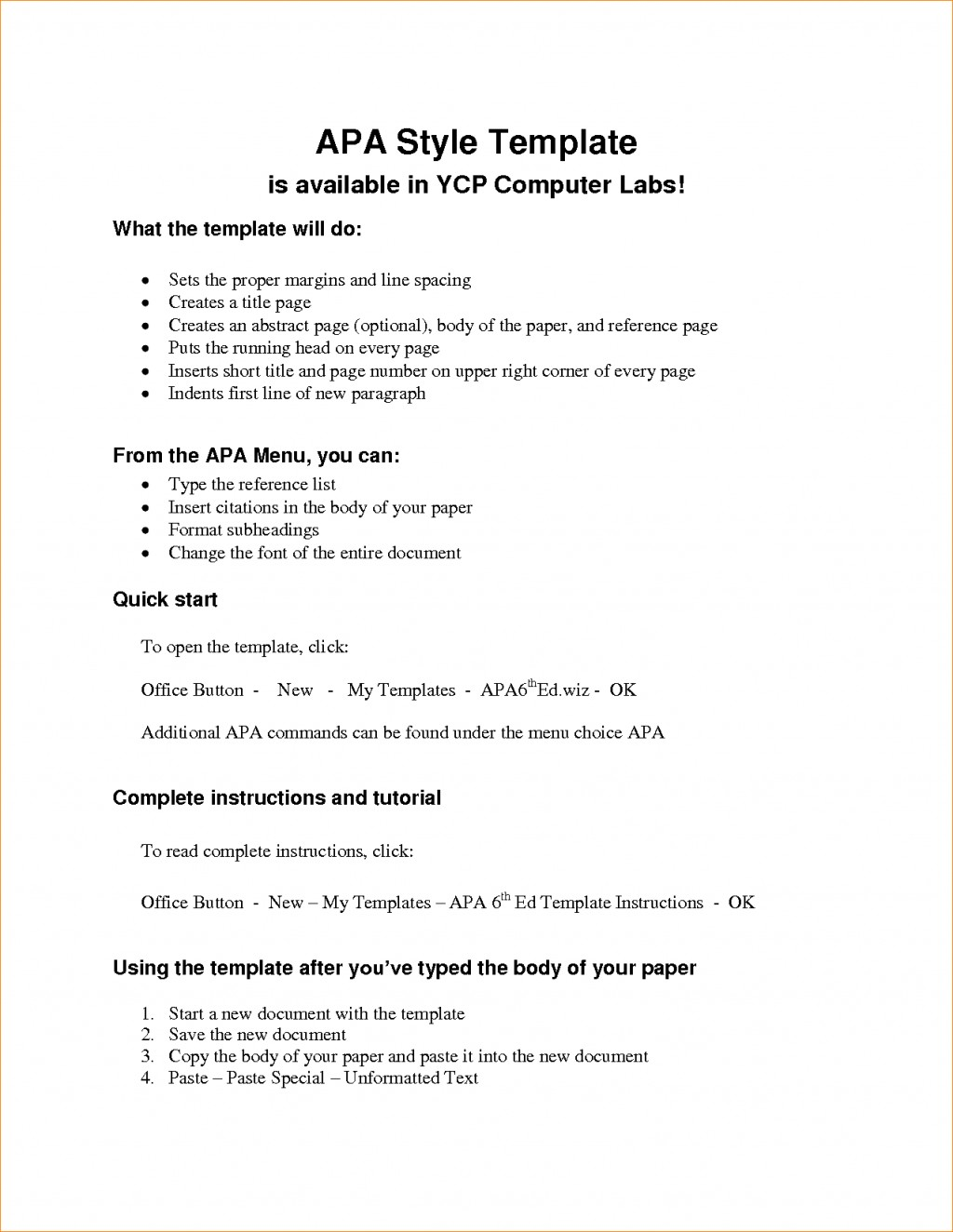 006 Apa Short Essay Format Example Research Paper Outline Template Archaicawful Large