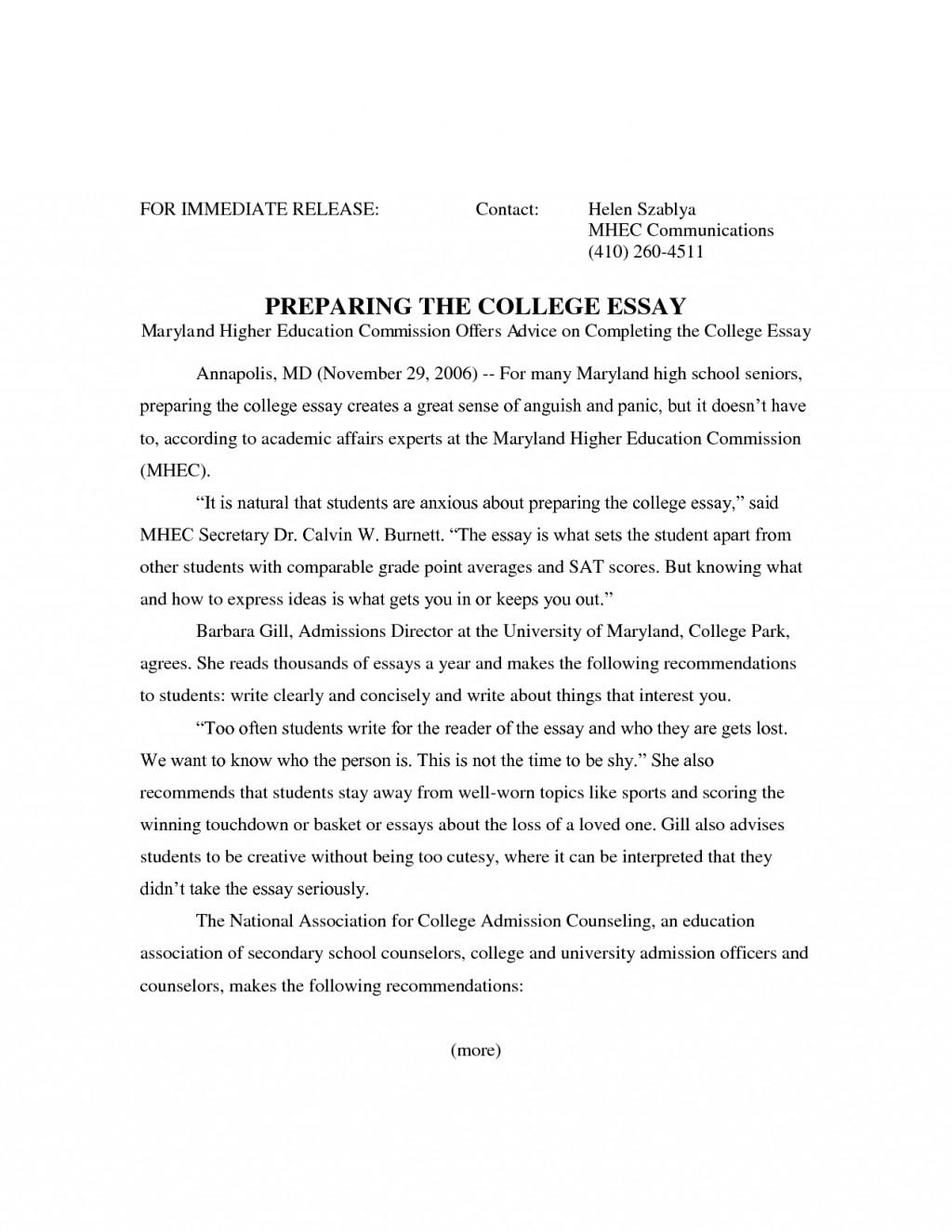 006 Ba7kkdwq2n Essay Example College Archaicawful Header Application Margins Large