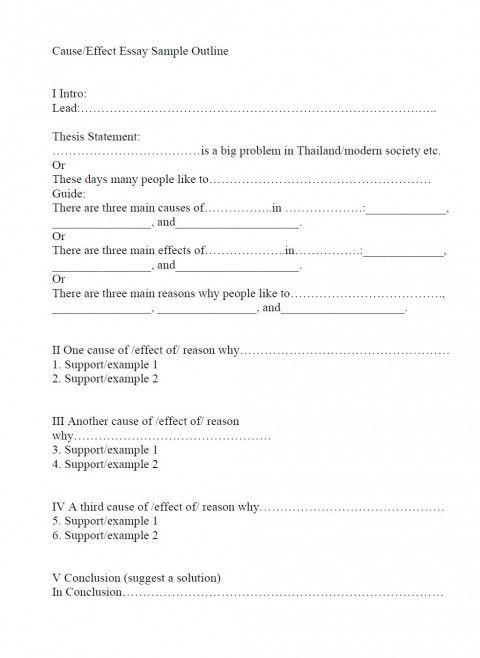 006 Cause And Effect Essay Example Outline Dreaded Smoking Topics For 6th Graders Format 480