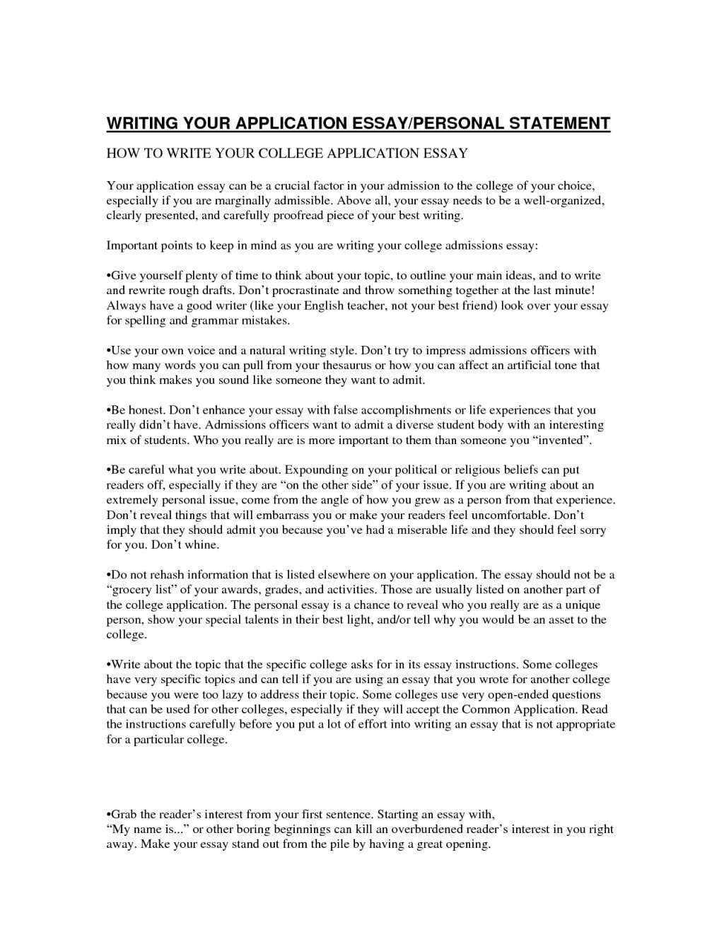 006 College Scholarship Essay Best Topics List Template Tips Large