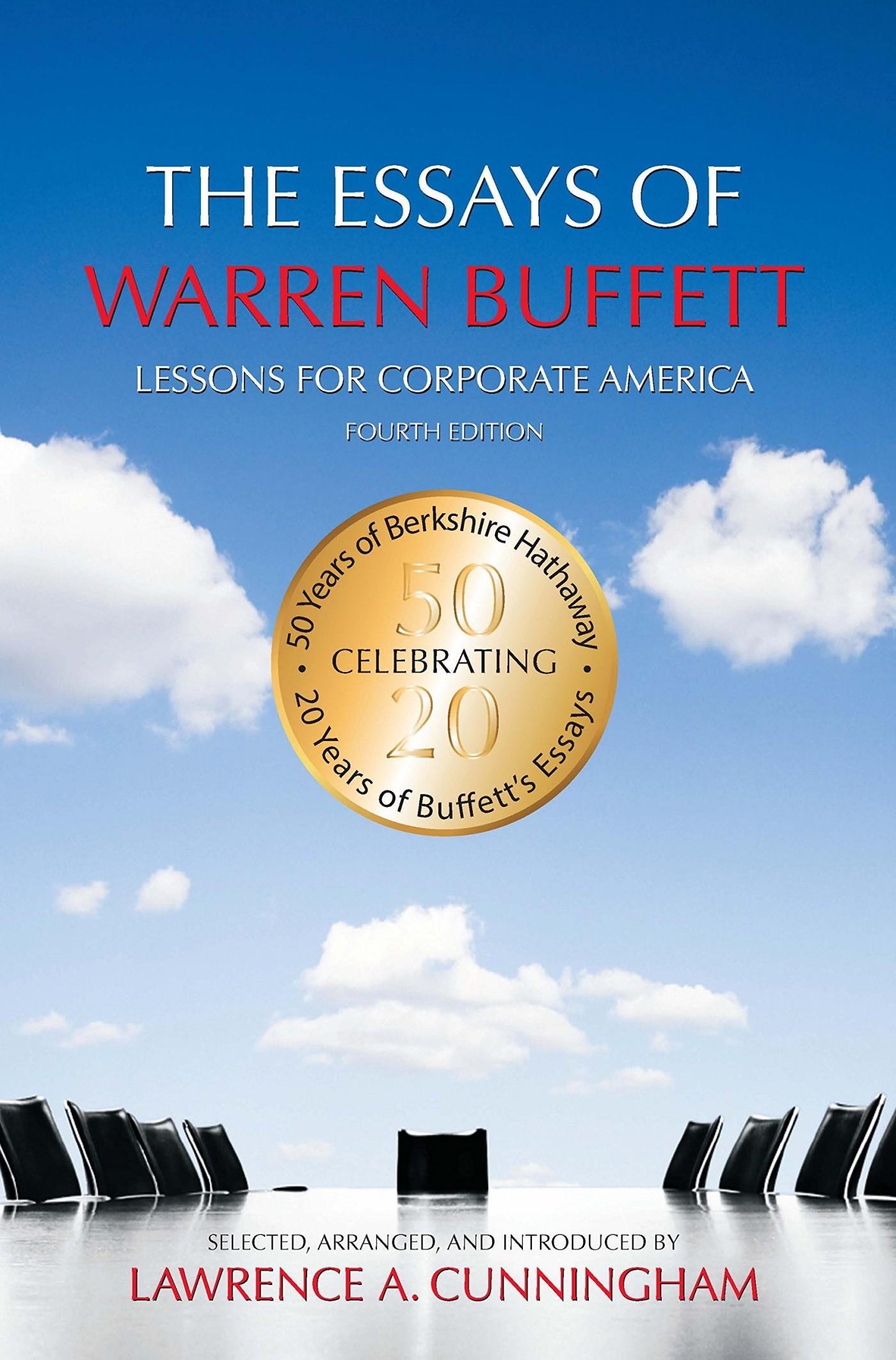 006 Die Essays Von Warren Buffett Essay Example Archaicawful Das Buch Für Investoren Und Unternehmer Pdf 1400