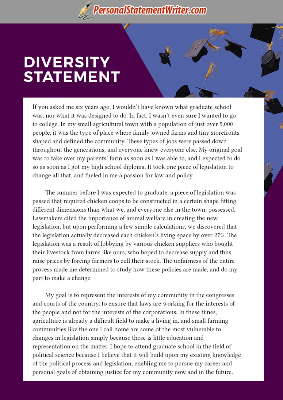 006 Diversity Essay Example Incredible Paper Examples Med School Sample Purdue